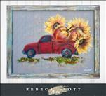 Rebeca Flott Arts - Rustic Truckloads of Autumn