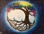 Tree of Life in Full Bloom-Rainbow Colors FUN! 18+