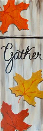Rustic Autumn Series - Gather Woodboard