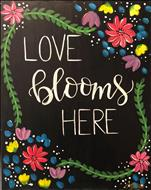 Love Blooms Here - Customizable