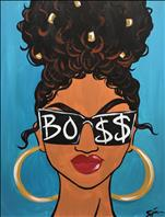 She's Bossy - Sip and Paint
