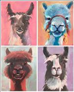 Llots of Llama Love - Pick Your Painting