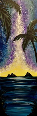 **TALL CANVAS** Midnight Palms