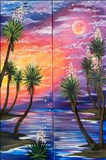 Early Moonrise - Set *10x30*