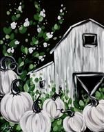 *NEW! - Farmhouse Pumpkin Barn