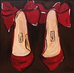 Candy Apple Stilettos 12x12
