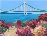 Mackinaw Bridge in Fall