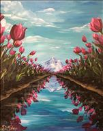 *Manic Monday $10 Off* Tulip Reflections