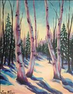Birch and White Pines