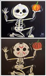 NEW! Halloween Skeletons - Set