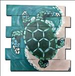 Coastal Series - Mosaic Turtle (green)