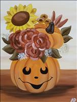 Bloomin' Pumpkin- Celebrate the 1st day of Fall!