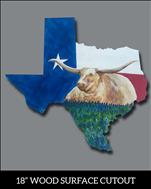 The Spirit of Texas Cutout