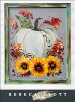 Rebeca Flott Arts - Fall, Flowers, and Friends 1