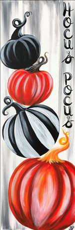 **TALL CANVAS** A Pumpkin pARTy!