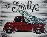 Holiday Truck 16X20 NEW! 12+