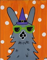 ALL AGES WELCOME! Spooky Party Llama