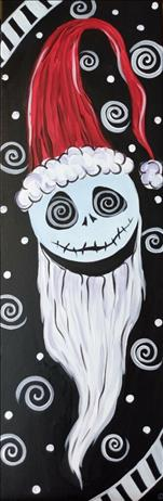 *Teen Friendly-10x30 Canvas* St Nick Nightmare