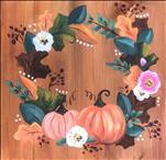 Traditional Fall Wreath 12x12