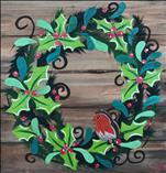 A Robin's Wreath 16X20 NEW! 12+