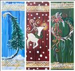 COFFEE & CANVAS-Just $25: Tree, Reindeer OR Wreath