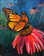 *NEW PAINTING* Monarch Romance