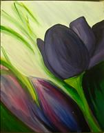 PAINTING WITH A PURPOSE:  Alzheimer's Assoc.