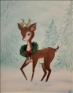 Vintage Holiday Reindeer
