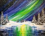 Winter Northern Lights 16X20 NEW ART! 14+