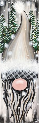 Ugly Sweater Party! Winter Gnome | Canvas or Board