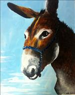 Portrait of a Mule