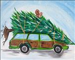 Clark's Station Wagon with Christmas Movie Trivia!