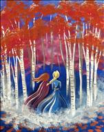 Disney inspired! Sisters in a Frozen Forest