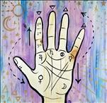 *Lunch Date & Paint* Palmistry