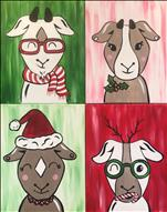"It's ""Goat-mas""! Pick Your Favorite Goat!"
