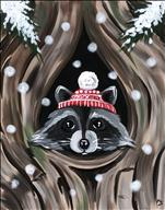 Winter Snowy Retreat - Raccoon
