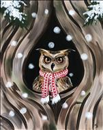 NEW! - Snowy Retreat - Owl