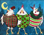 Crazy Christmas Chickens
