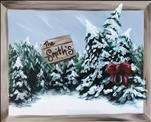 Family Christmas Tree Farm 16X20 NEW ART! 12+