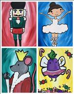 "New Kids Art! ""Cute Nutcracker Characters"""