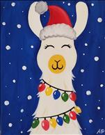 Christmas Llama ALL AGES