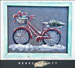 Rebecca Flott Arts - Biking thru the Holidays!