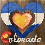 Colorado Love | Canvas or Real Wood