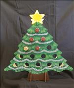 *WINE HOLDER!* Tipsy Evergreen Tree