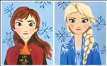 Frozen Friends - Anna and Elsa - ALL AGES!