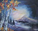 Rocky Aspens-Beautiful Winter Art! 18+