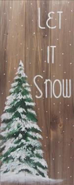 Let It Snow 10x30