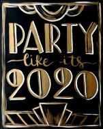 Party Like It's 2020! New! Double Paint Points!