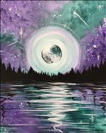 NEW ART Alert!! Galactic Moon Lake