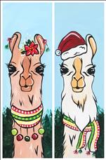 Happy Llamadays - Guy and Gal Set